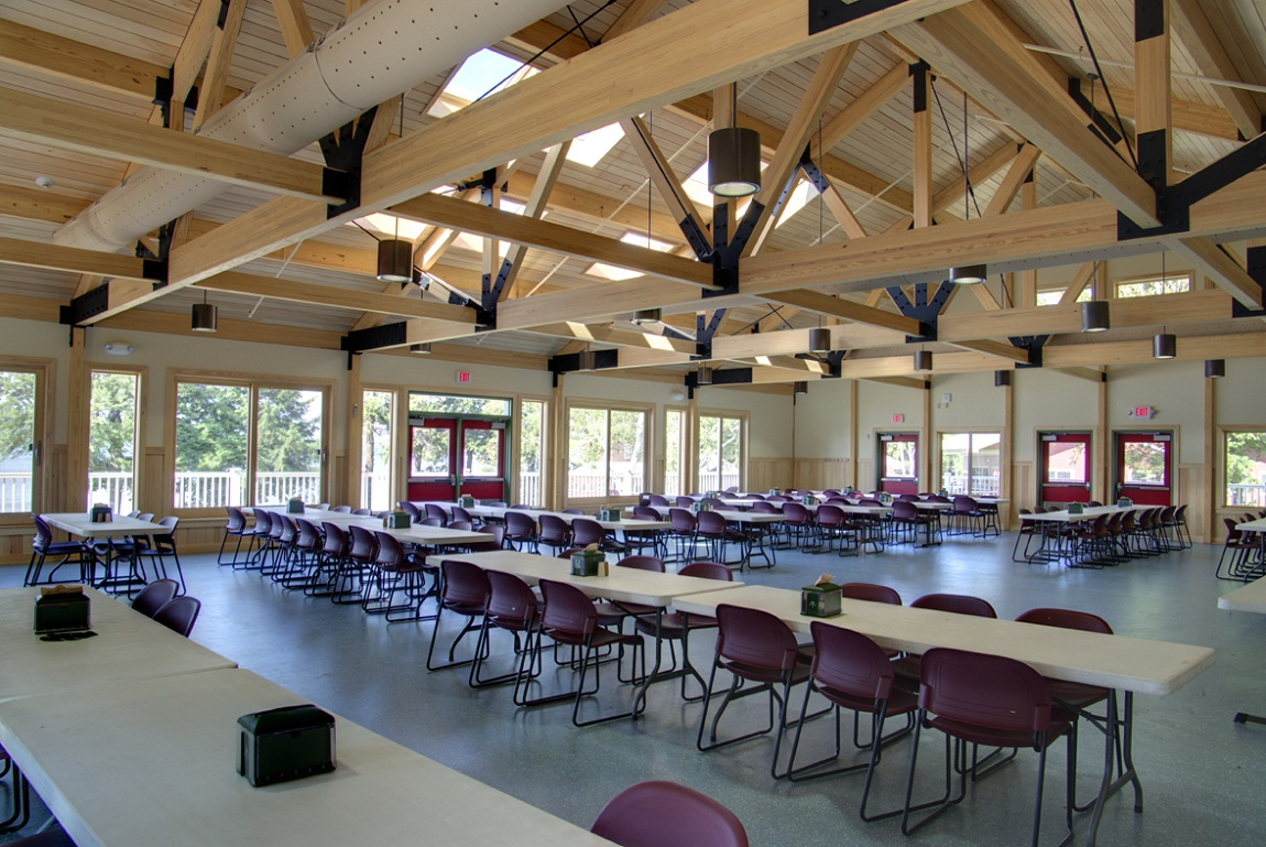 Harold And Bibby Alfond Dining Hall Aia Maine